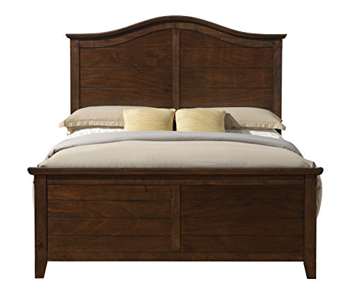 Better Homes and Gardens Hillbrooke Bed, Queen, Mocha (Espresso Queen Finish Poster Bed)