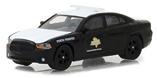 Texas Highway Patrol Greenlight 42840-E Hot Pursuit Series 27 2017 Dodge Charger Pursuit 1:64 Scale (Diecast Car Highway)