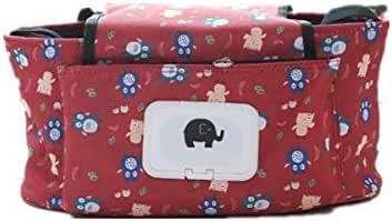 Cartoon multifunctional baby diaper bag, baby care baby stroller bag.