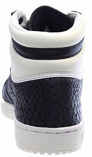 on sale 173a0 80eee adidas Women s Top Ten Hi Black White S75135 (Size  8) by adidas