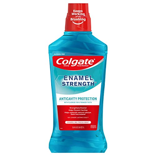 Colgate Enamel Health Mouthwash, Fresh Mint - 1L, 33.8 fluid ounce from Colgate