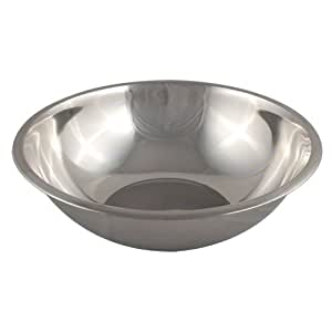 American Metalcraft (SSB2000) 20 qt Stainless Steel Mixing Bowl