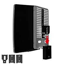 Vebos portable wall mount Sonos Play 3 black - High Quality en optimal experience in every room - Allows you to hang your SONOS PLAY 3 exactly where you want it - Two years warranty