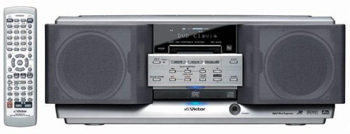 JVCケンウッド ビクター DVD-MDポータブルシステム シルバー RD-XV10-S B0007MAJYS