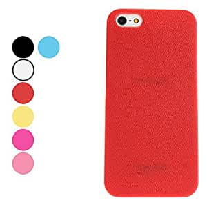 GHK - Balgfrucht Design Hard Case for iPhone 5/5S (Assorted Colors) , White
