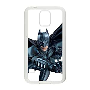 Samsung Galaxy S5 Cell Phone Case White Batman Phone Case Cover Hard Design CZOIEQWMXN3662