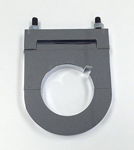 Hot Rod Chrome Aluminum 2 x 2 1/2 Inch Steering Column Drop W/Key (Hot Rod Steering)
