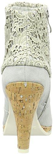 Marco Tozzi Women's 25302 Ankle Boots, Black (Black Comb) Grey (Grey Comb 221)