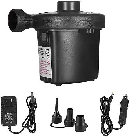 [해외]Walmeck- Electric Air Pump Portable Air Pump Air Mattress Pump3 Nozzles Inflator Deflator Pumps / Walmeck- Electric Air Pump Portable Air Pump Air Mattress Pump3 Nozzles Inflator Deflator Pumps
