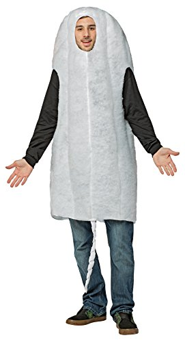 Tampon Costume Halloween (UHC Tampon Outfit Funny Theme Party Fancy Dress Adult Halloween Costume,)
