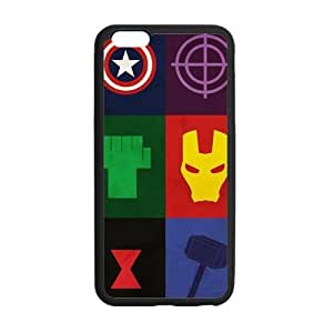 the Case Shop- Avengers 2 Avengers2 Age of Ultron Super Hero TPU Rubber Hard Back Case Silicone Cover Skin for iPhone 6 Plus 5.5 Inch , i6pxq-576