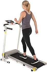 Sunny Health & Fitness Easy Assembly Motorized Walking Treadmill W