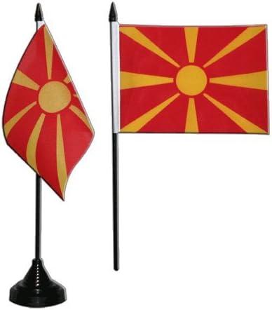 Tischfahne Europ/äische Union EU Tischflagge gratis Aufkleber Flaggenfritze/®