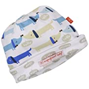 Magnificent Baby-Boys Newborn Reversible Cozy Cap, Hot Dogs, One Size