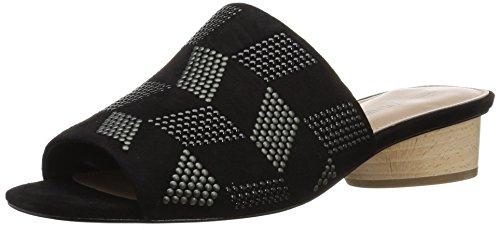 Donald J Pliner Women's Riminisp Slide Sandal, Black, 8.5 Medium US