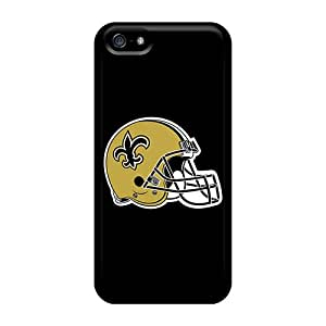 CharlesPoirier Iphone 5/5s Shock-Absorbing Cell-phone Hard Cover Unique Design Fashion New Orleans Saints Pictures [ISS3196aPJO]