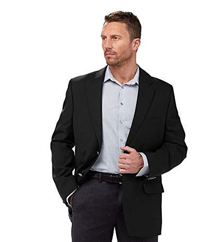 [해외]남성 파인 울 블랙 블 레이저 / Men`s Fine Wool Black Blazer
