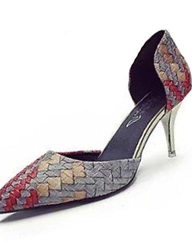 GGX/ Damenschuhe-High Heels-Lässig-Polyester-Stöckelabsatz-Absätze-Rosa / Orange pink-us6 / eu36 / uk4 / cn36