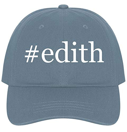 (The Town Butler #Edith - A Nice Comfortable Adjustable Hashtag Dad Hat Cap, Light Blue)