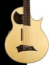 Warwick Rockbass Alien Acoustics Standard 5 String Bass, Natural Satin