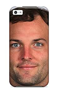 New Premium Flip Case Cover Wes Welker Pictures Skin Case For Iphone 5c