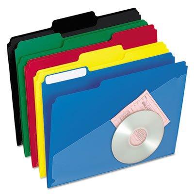 UPC 800011347923, ESS00515 - Pendaflex Hot Pocket Poly File Folders