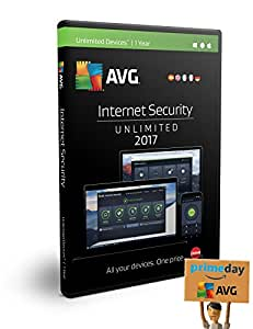 AVG Internet Security 2017 | Dispositivos Ilimitados | 1 Año