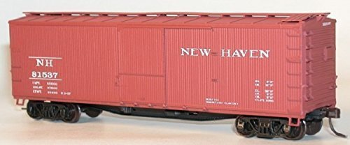 Accurail HO 40'USRA Double Sheath Wood Boxcar Kit New Haven #84263 by Accurail