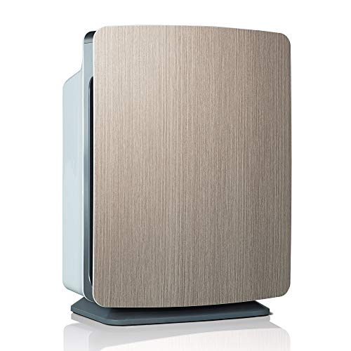 Alen BreatheSmart FIT50 Air Purifier for Bedrooms, Living Rooms, Offices, 900 SqFt. Coverage Area, HEPA Filter for Mold, Bacteria, Dust, Allergies, Weathered Gray