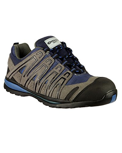 Amblers Safety FS34C Safety Trainer / Mens Trainers Grey