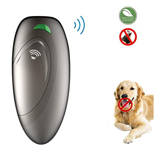Ultrasonic barking control, Dog bark control, Bark trainer, Anti barking device, Handheld ultrasonic dog bark deterrent with Wrist Strap,No bark devices,Barking dog deterrent,Bark controller (Best Protection Dog Trainers)