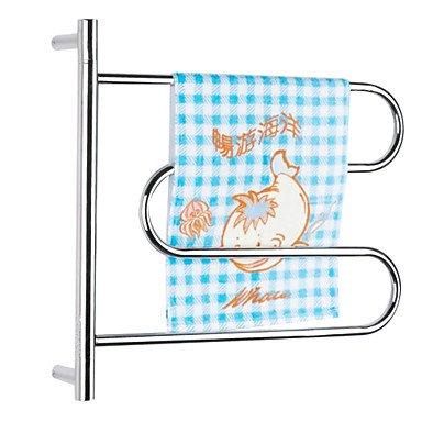 LI 40W Swing Arm Wall Mount Circular Tube Towel Drying Rack