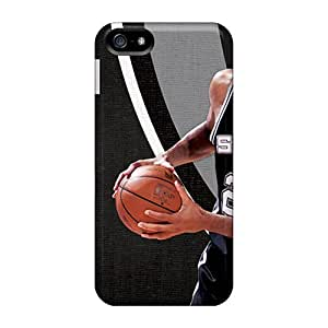 Scratch Protection Hard Phone Cover For Apple Iphone 5/5s (irC8517lVUK) Support Personal Customs Trendy San Antonio Spurs Skin