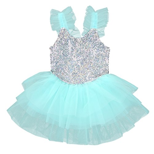 Toddler Girl Kids Baby Princess Lace Dress Party Sequins Wedding Tulle Tutu Dresses