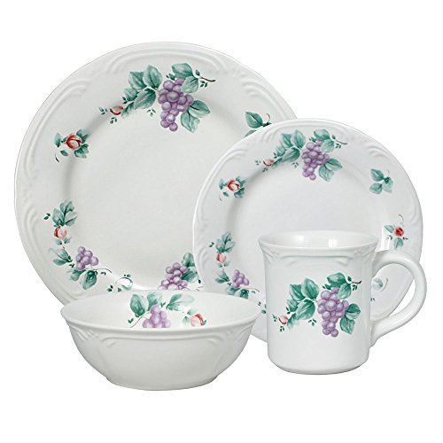 Pfaltzgraff Grapevine Dinnerware Set (16 Piece)
