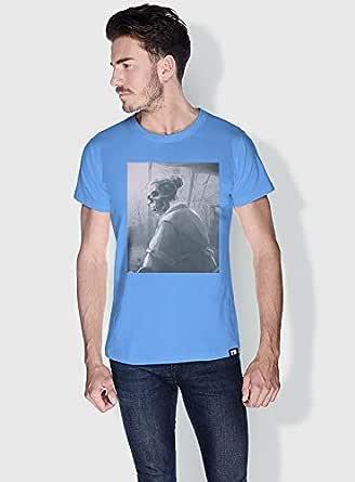 Creo Grandma Skulls T-Shirts For Men - Xl, Blue