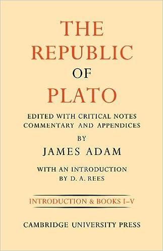 The Republic of Plato 2 Volume Set (2 Volumes)
