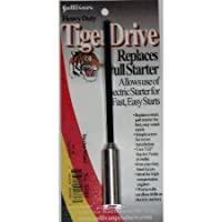 Varilla de arranque TigerDrive de Sullivan Products con adaptador de 7/32 ""