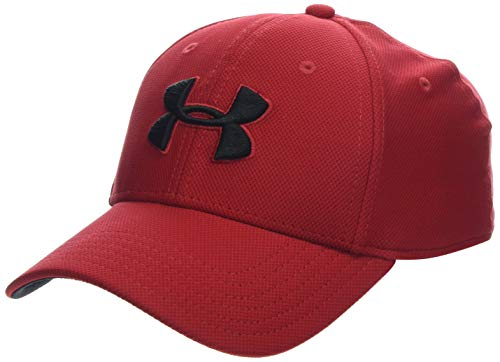 - Under Armour Men's Blitzing 3.0 Cap, Red (600)/Black, Large/X-Large
