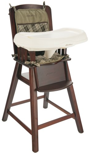 Charmant Amazon.com : Eddie Bauer Wood High Chair Bryant Collection Cherry :  Childrens Highchairs : Baby