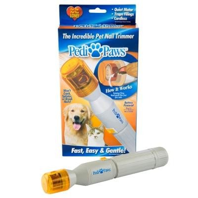Pedi Paws Dog Nail Grinder by BulbHead - Professional Style Dog Grooming Using Gentle Filing Wheel for Your Pet's Happy Paws