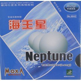 YINHE Galaxy/Milkyway Neptune Long Pips Table Tennis Rubber, Color-Black,Thickness