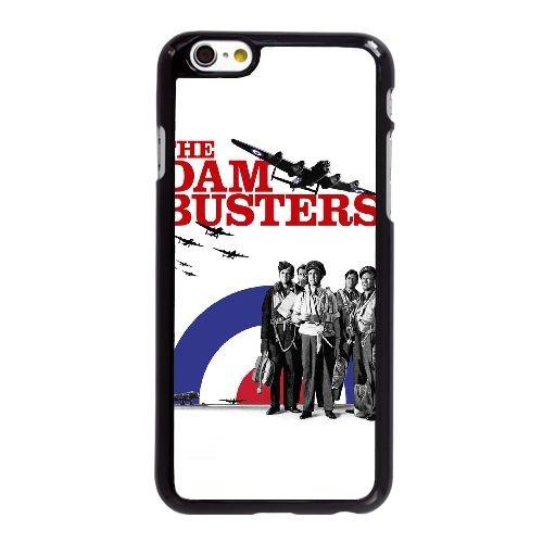 O9H40 Dam Busters La Haute Résolution Affiche G4T8GK coque iPhone 6 Plus de 5,5 pouces cas de couverture de téléphone portable coque noire KM4QUK4GD