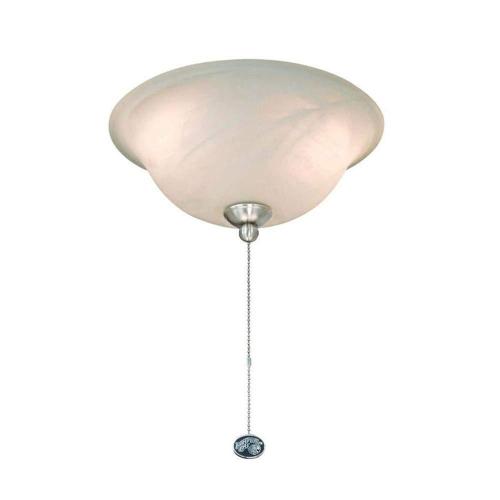 Hampton 72199r bay universal led ceiling fan light kit amazon com