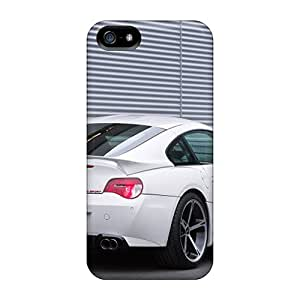 Fashion Protective White Ac Schnitzer Bmw M Coupe Rear Angle Cases Covers For Iphone 5/5s