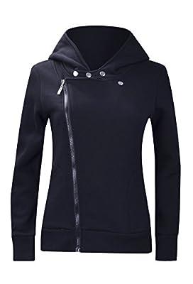 Songbai Women Slim fit Zip-up Hoodie Jacket
