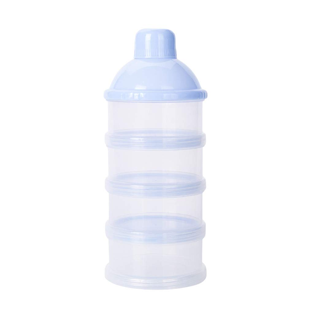 Willsa Portable Detachable Milk Powder Box Safety Baby Milk Powder Container Snack Box