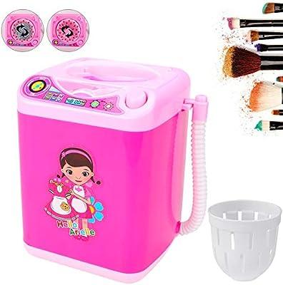 dispositivo de limpieza autom/ática en polvo Puff lavadora limpieza profunda lavadora lavado herramientas mini juguete Cepillo limpiador de brochas de maquillaje