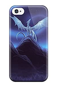 Hot Dragon First Grade Tpu Phone Case For Iphone 4/4s Case Cover