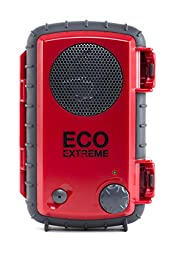 Eco Extreme 3.5mm Aux Waterproof Portable Speaker Case (Red)